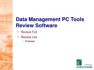 Data Management PC Tools Review Software