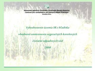 Slovensk� agent�ra �ivotn�ho prostredia Bansk� Bystrica