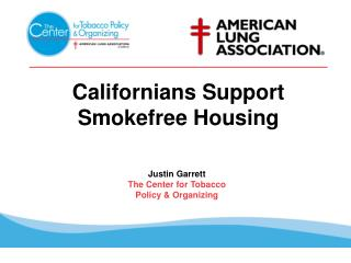 Californians Support Smokefree Housing