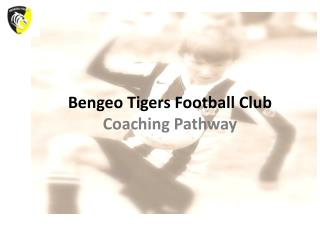 Bengeo Tigers Football Club Coaching Pathway