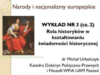 Narody i nacjonalizmy europejskie