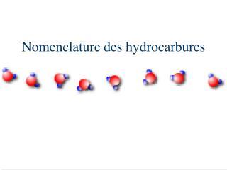 Nomenclature des hydrocarbures