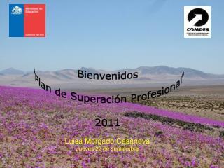 "Bienvenidos ""Plan de Superación Profesional"" 2011"