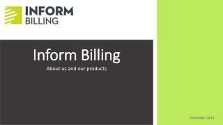 Inform Billing