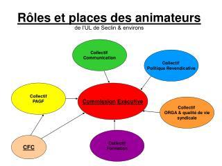 Rôles et places des animateurs de l'UL de Seclin & environs
