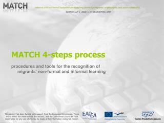 MATCH 4-steps process