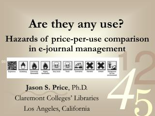 Hazards of price-per-use comparison in e-journal management