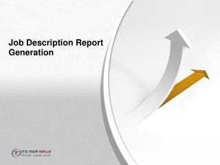 Job Description Report Generation