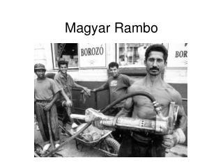 Magyar Rambo