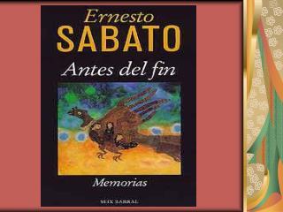 Antes del Fin De Ernesto Sabato