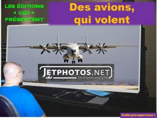 des avions qui volent presque tous cqt