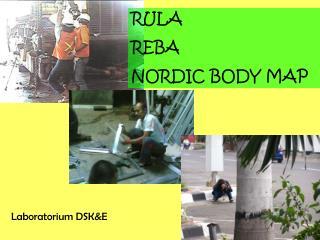 RULA REBA NORDIC BODY MAP