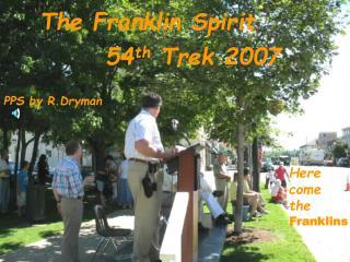 The Franklin Spirit