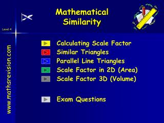 Mathematical Similarity