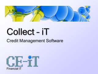 Collect – iT Credit Management Software