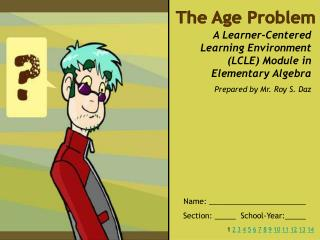 The Age Problem