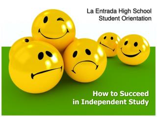 How to Succeed in Independent Study