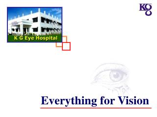 Everything for Vision
