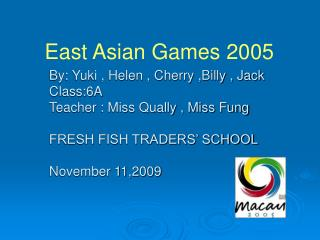 East Asian Games 2005