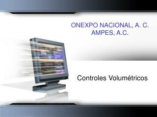 ONEXPO NACIONAL, A. C. AMPES, A.C.