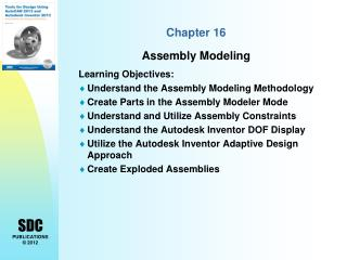 Chapter 16  Assembly Modeling