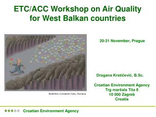 ETC/ACC Workshop on Air Quality for West Balkan countries