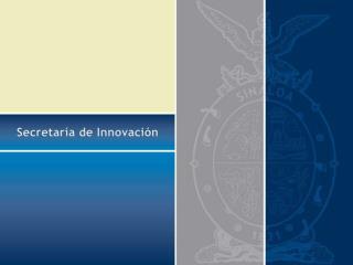 Secretaría de Innovación