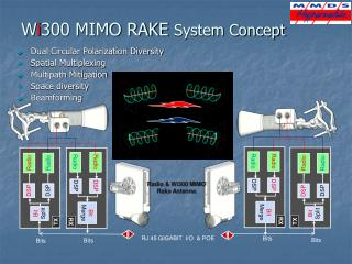 W i 300 MIMO RAKE  System Concept