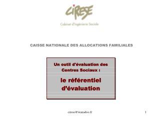 CIRESE  -  cabinet d'ingénierie sociale membre du réseau