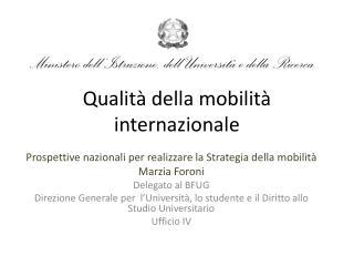 Qualità della mobilità internazionale