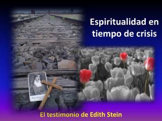 Espiritualidad en tiempo de crisis