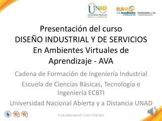 Cadena de Formación de Ingeniería Industrial