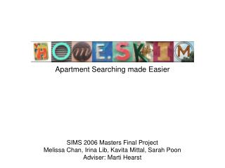 Apartment Searching made Easier