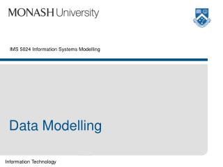 IMS 5024 Information Systems Modelling