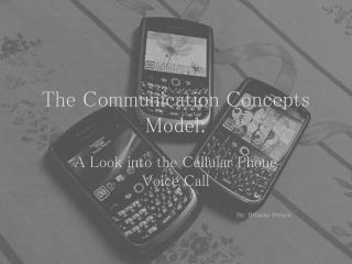 The Communication Concepts Model: