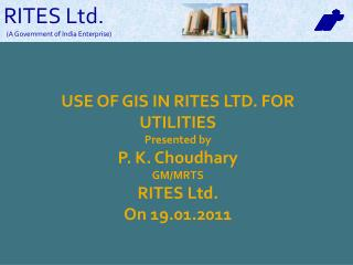 RITES Ltd.                     (A Government of India Enterprise)