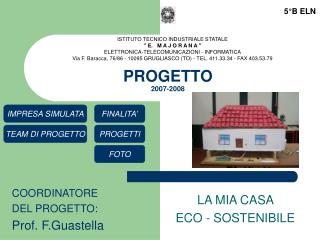 PROGETTO  2007-2008