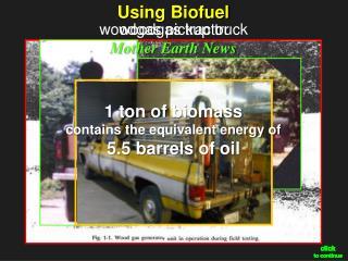 Using  Biofuel