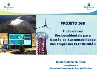 PROJETO IGS   Indicadores Socioambientais para Gest o da Sustentabilidade  das Empresas ELETROBR S