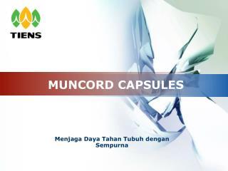 MUNCORD CAPSULES