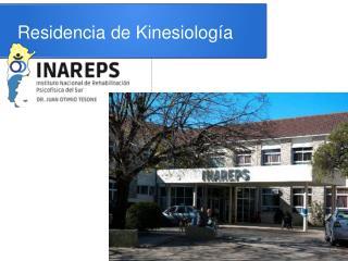 Residencia de Kinesiología