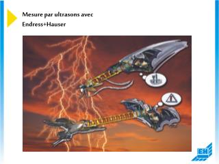 Mesure par ultrasons avec Endress+Hauser