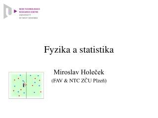 Fyzika a statistika