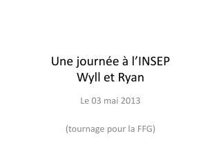 Une journée à l'INSEP Wyll  et Ryan