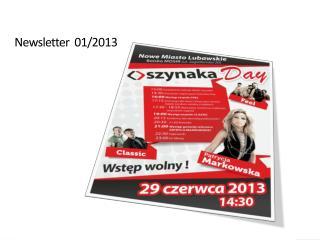 Newsletter   01/2013