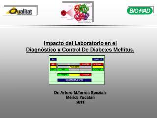 Impacto del Laboratorio en el  Diagnóstico y Control De Diabetes Mellitus.