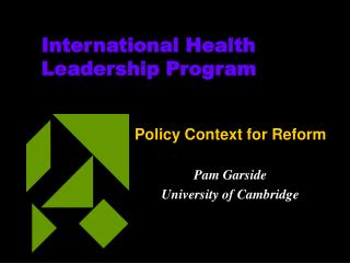 International Health Leadership Program
