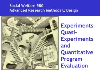 Social Welfare 580 Advanced Research Methods  Design