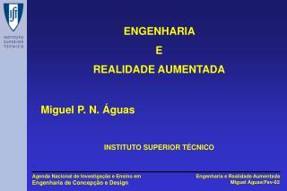ENGENHARIA  E REALIDADE AUMENTADA