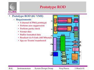 Prototype ROD